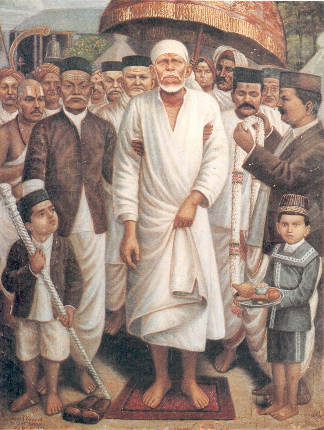 Sai Darbar Wallpaper Shirdi Sai Baba Ram Darbar